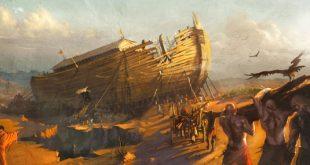 hz Nuh'un kısaca hayatı, Nuhun gemisi
